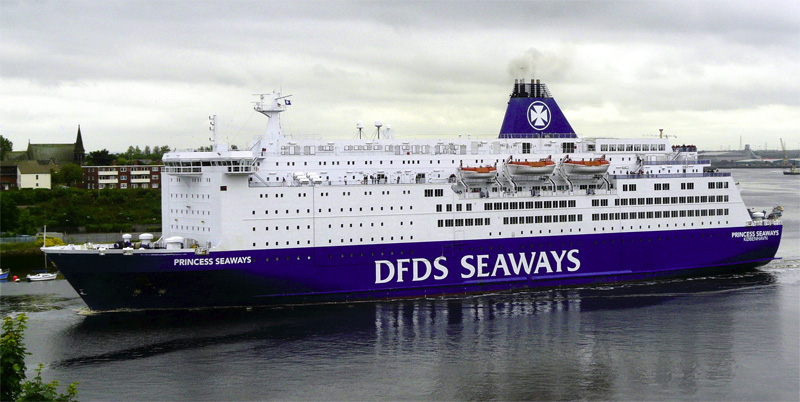 The MS Princess Seaways